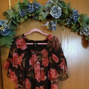 Ana Floral Top